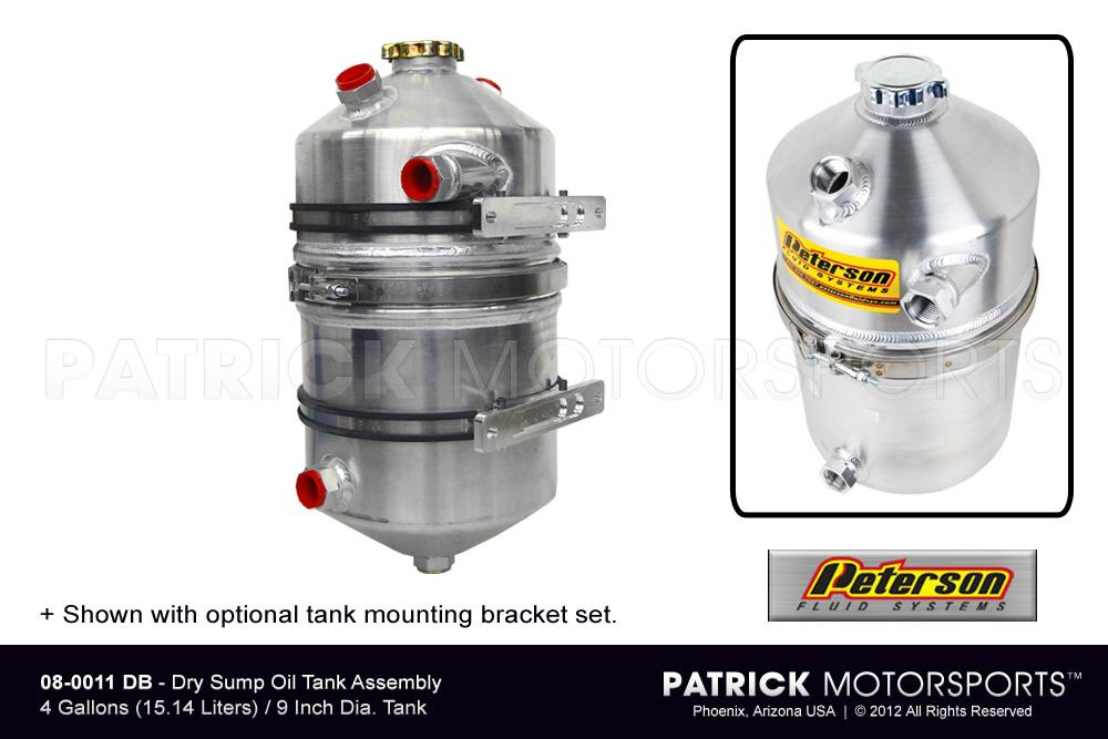 Dry Sump Oil Tank Assembly - 4 Gallon