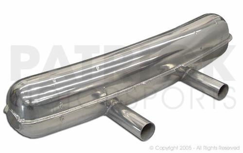 Sport Exhaust Silencer Muffler - 911RS - 914 6