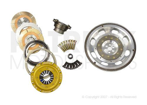 901 RSR Flywheel & 5.50 Inch Clutch Package - Dual Disc Clutch