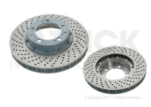 Brake Disc Rotor 993 Turbo - C4S - Front Left