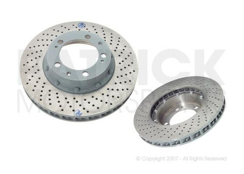 Brake Disc Rotor - Front Right - 993 Turbo / Carrera 4S / M491