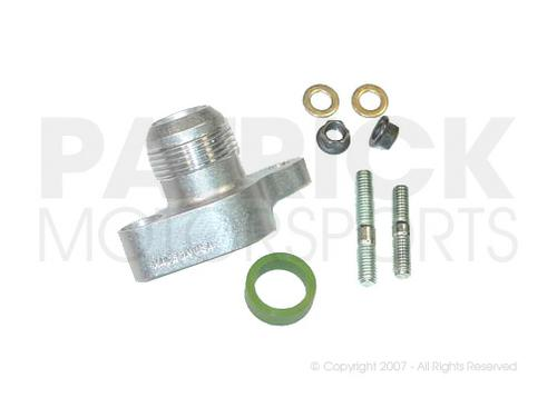 Engine Oil Case Union Adapter - Inlet AN-16