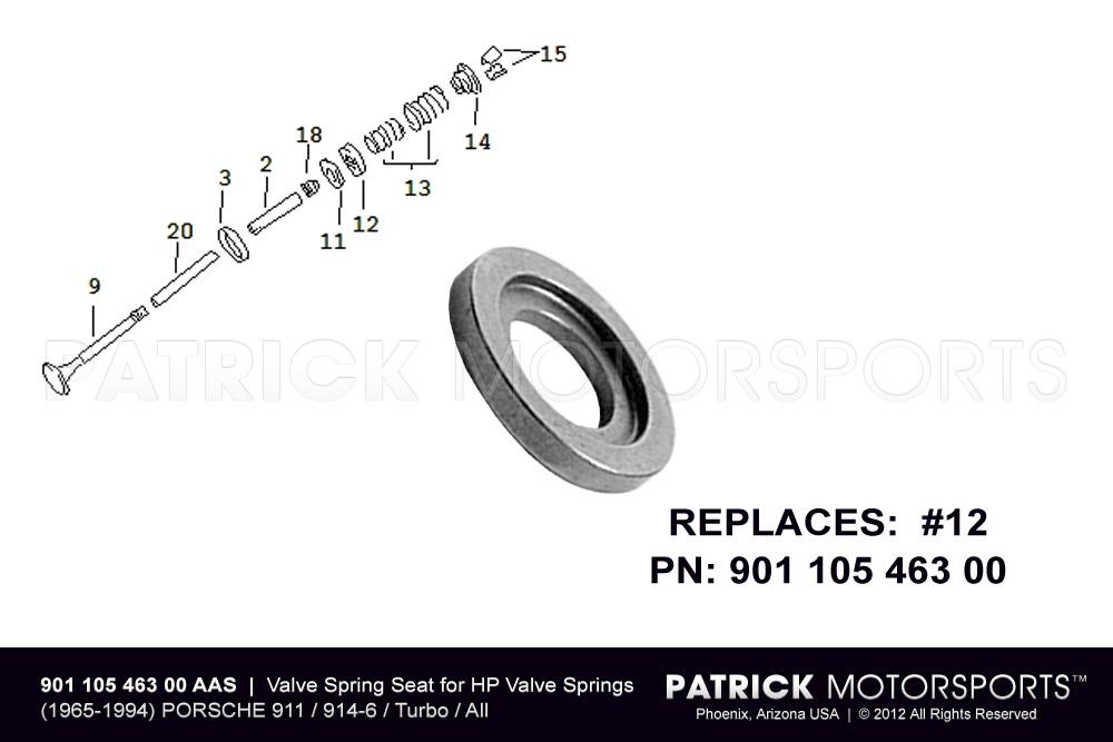 Valve Spring Seat for HP Engine Valve Springs