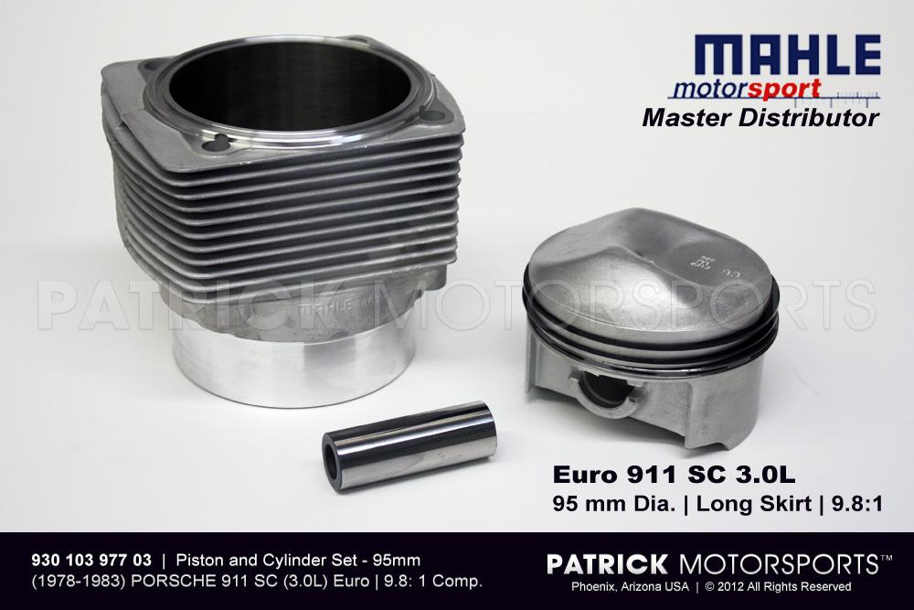 Piston & Cylinder Set - 911 SC 3.0L Euro 95mm