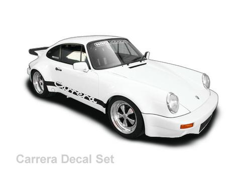 Carrera Decal Sticker Set