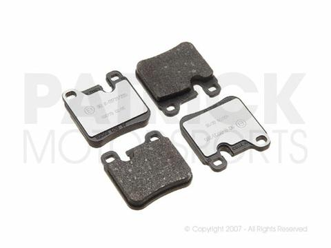 BRAKE PAD SET - PORSCHE 911 CARRERA 2 THRU '91 - TEXTAR (OEM)