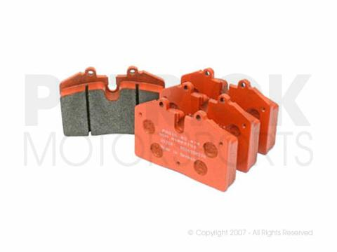 BRAKE PAD SET - FRONT / REAR - PAGID RACING ORANGE RS4-4 - PORSCHE 930