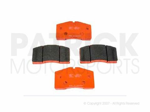 BRAKE PAD SET - FRONT - PAGID RACING ORANGE RS4-4 - PORSCHE 993 TURBO