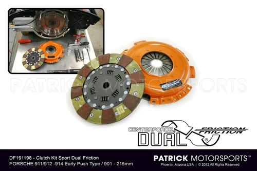 Clutch Kit Centerforce Dual Friction 911 / 914 / 901