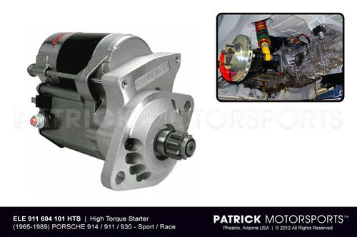 Starter - High Torque Gear Reduction Type