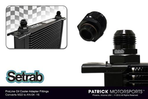 Adapter Fitting - (M22 to AN-08) - For ProLine Oil Coolers 