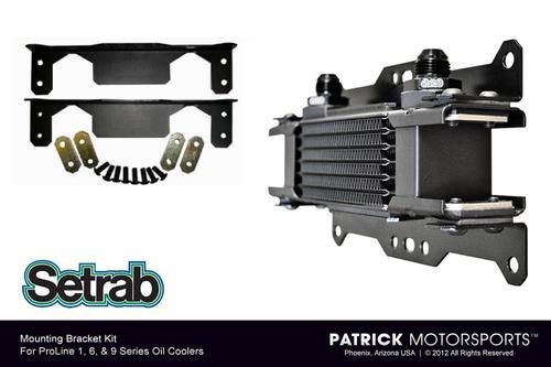 Setrab Oil Cooler Mounting Kit - 23-6002