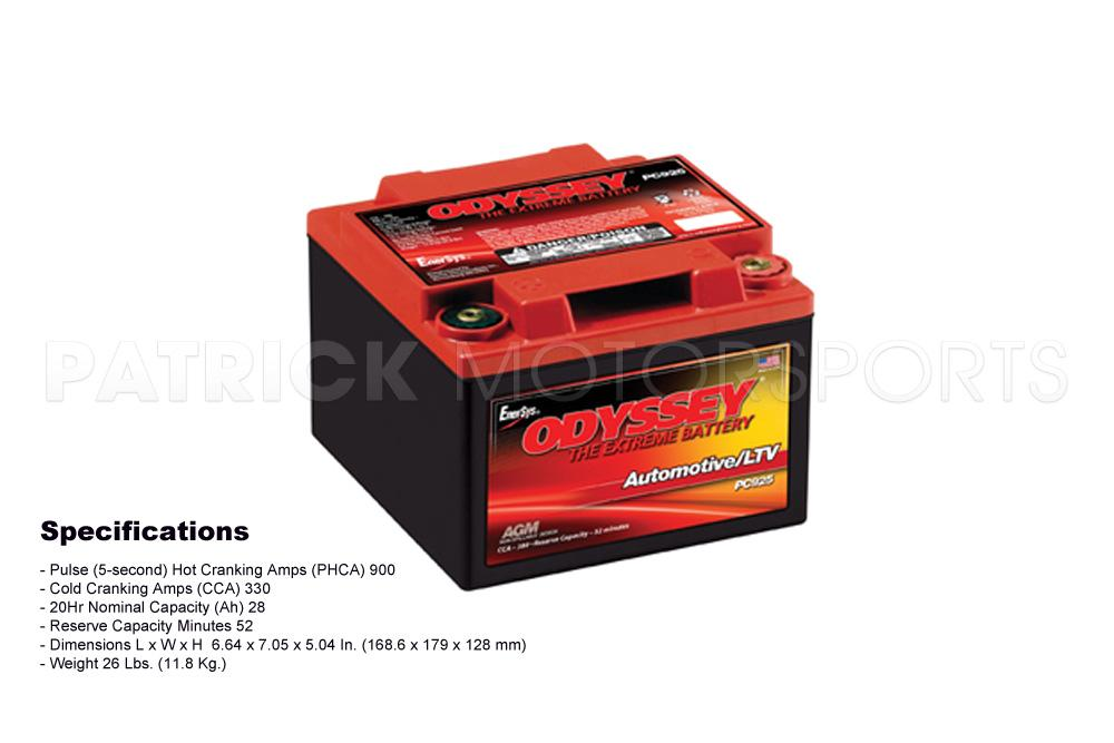 Battery - ODYSSEY PC-925-A