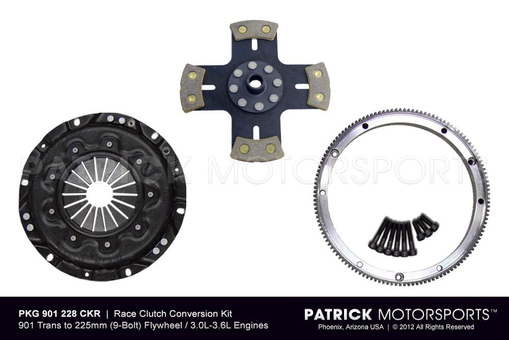 901 to 225mm Clutch Kit 914 Race Conversion