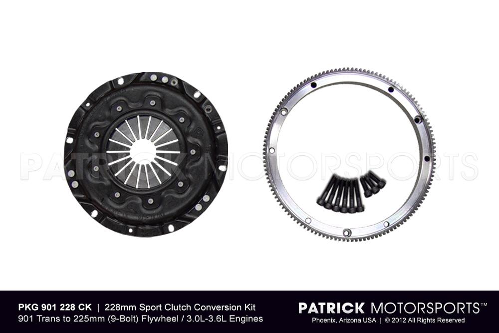 Clutch Pressure Plate Conversion Set - 228mm - 901 - 914 Sport Conversion
