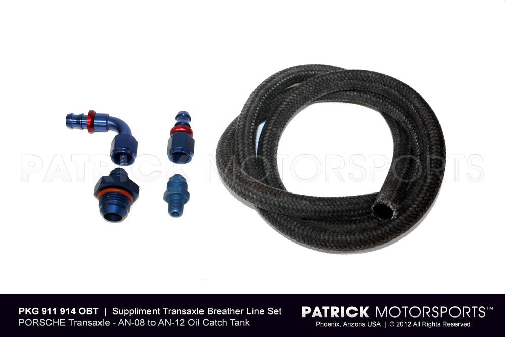 Transmission Breather Line System to Oil Catch Tank