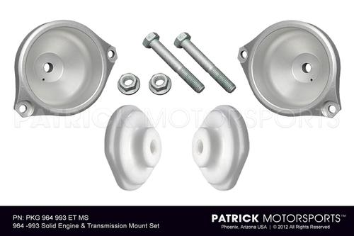 Solid Engine & Transmission Mount Set - 964 - 993