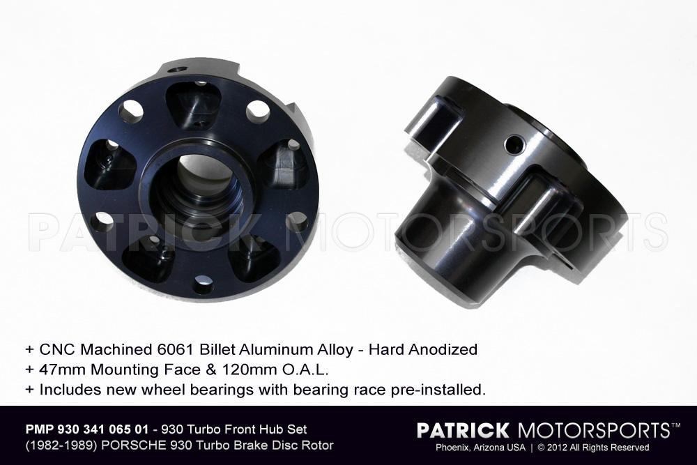 930 Turbo Front Hub Set
