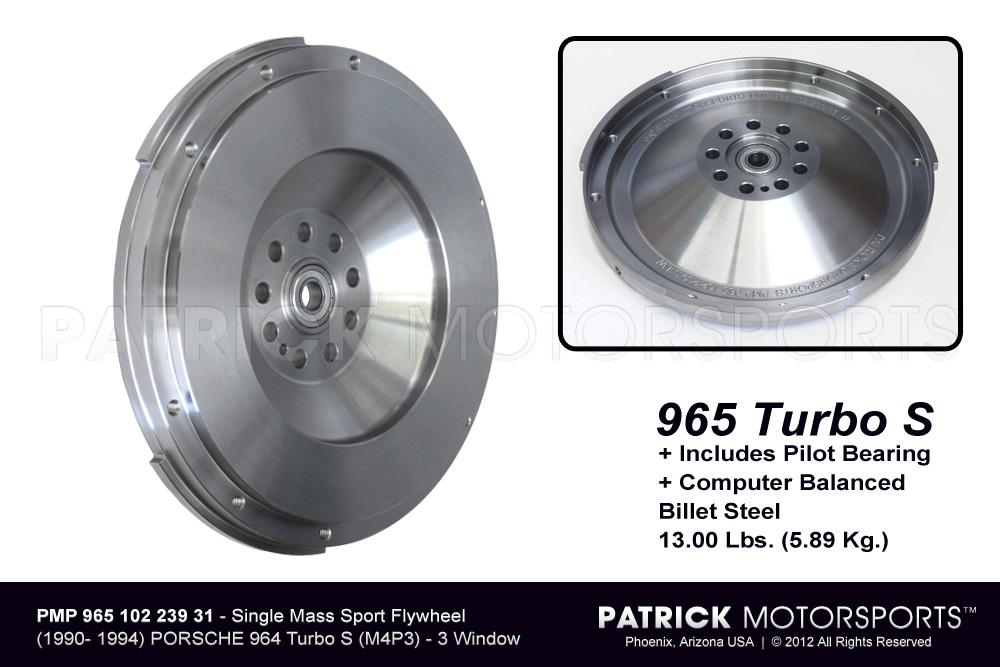Flywheel - 965 Turbo S / M4P3 Single Mass Lightweight