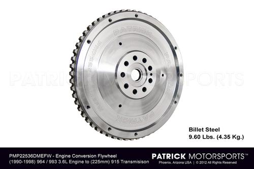Flywheel 901 915 225mm Conversion to 964 - 993 3.6L DME Engines