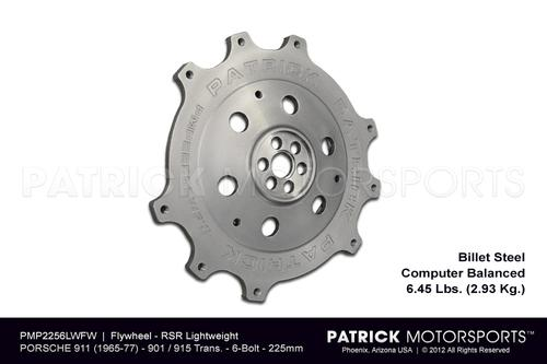 Flywheel - 911 RSR 225mm 6 Bolt Crank - 915 901