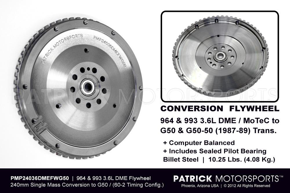 Flywheel Conversion 911 G50 to 964 993 3.6L DME 240mm