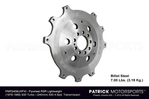 Billet Lightweight Flywheel 240MM 930 / 934 / 935 / 962