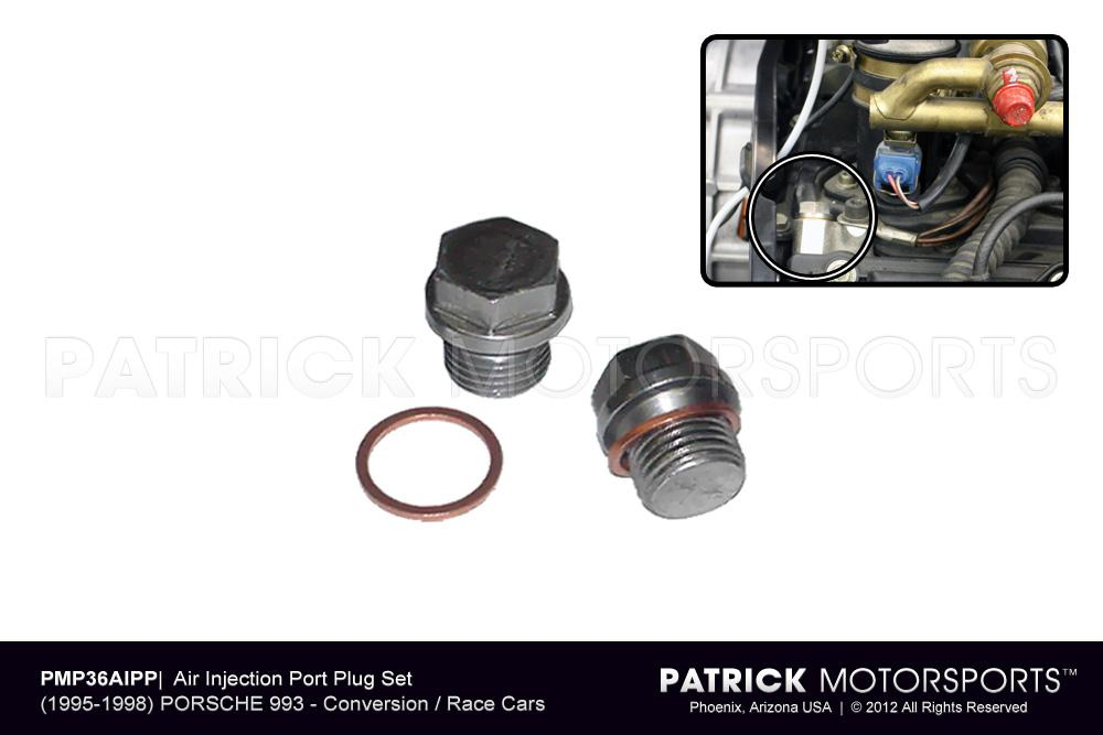 993 Air Injection Plug Block Off Set