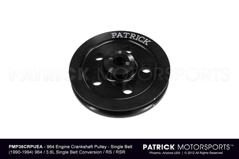 Engine Crankshaft Pulley - 964 Single Belt RS / RSR Type