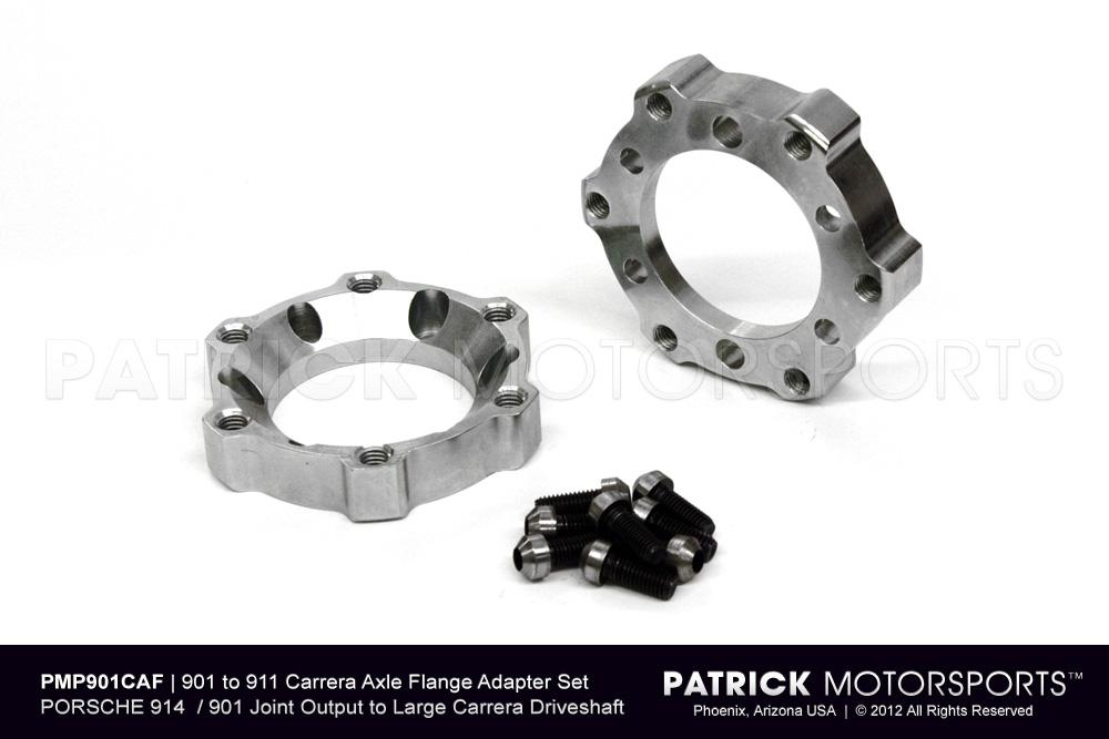 Rear Axle Joint Flange Adapter Set - PORSCHE 901 / 914 Transmission
