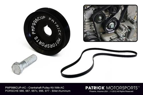 Crankshaft Pulley Kit (For cars with AC)