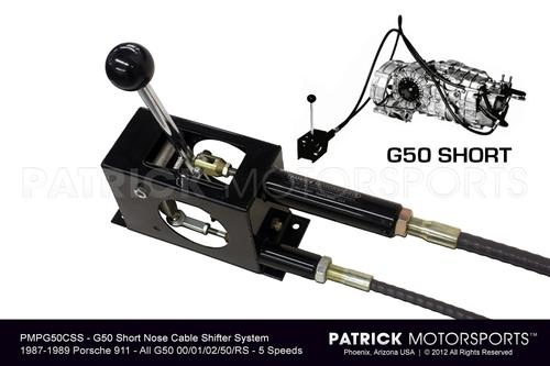 G50 Short Nose Cable Shifter System