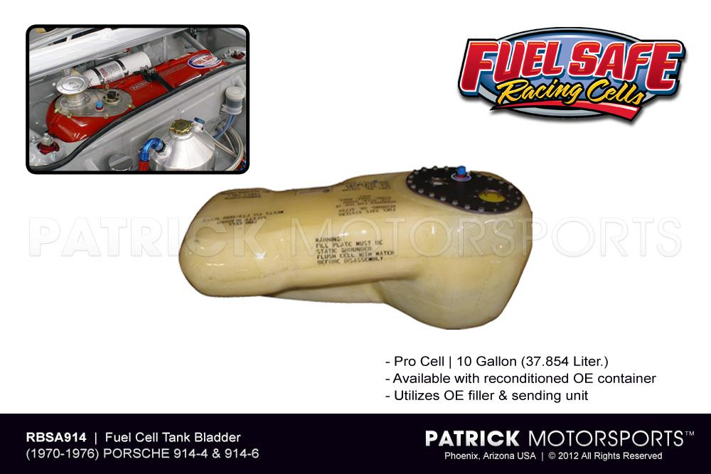 Porsche 914 Fuel Cell Tank Bladder - Fuel Safe Pro Cell