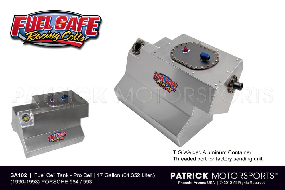 Fuel Cell Tank 17 Gallon - 911 / 964 & 993 Fuel Safe