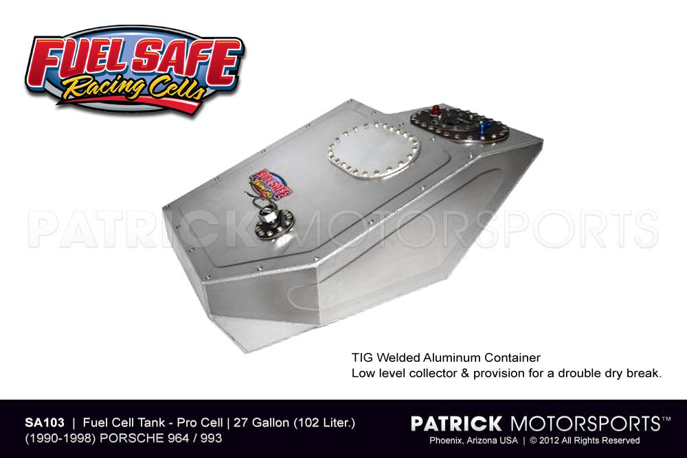 Fuel Cell Tank 27 Gallon - 911 / 964 & 993 Fuel Safe
