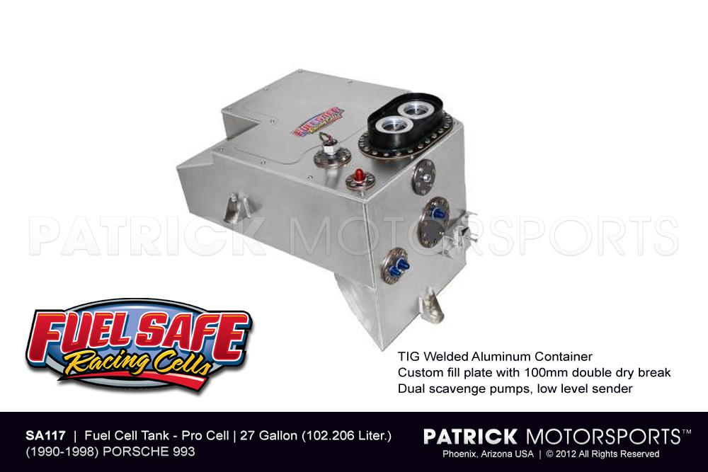 Fuel Cell Tank 27 Gallon - 911 / 993 Fuel Safe
