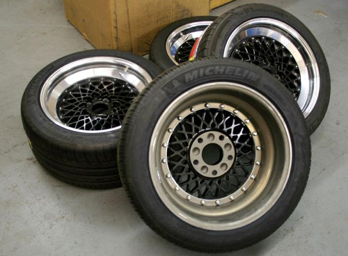 These old school BBS wheels were originally 16