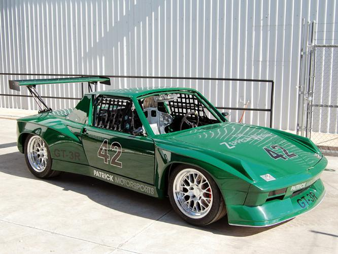GT-3R Race Spec - Full lightweight composite body and chassis race preparation done here at Patrick Motorsports.