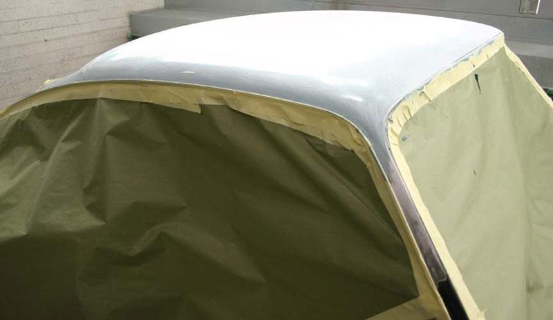 This picture shows the light weight composite top skin installed on our project. As you can see when installed properly you cannot tell this has been replaced.