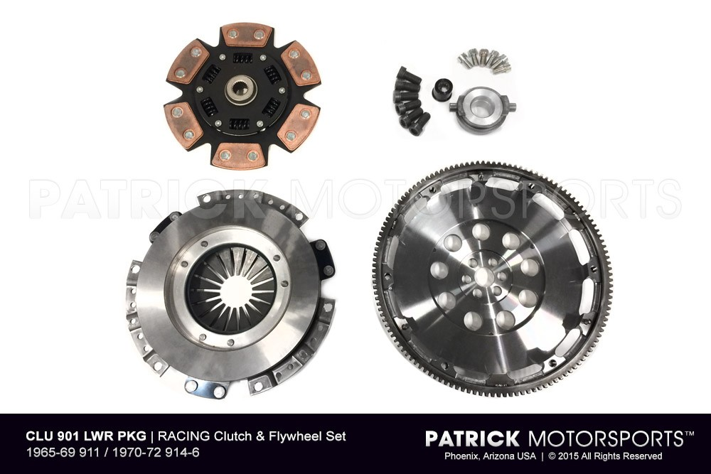 RACING Clutch & Flywheel Set - 1965-68 911 / 1970-72 914-6