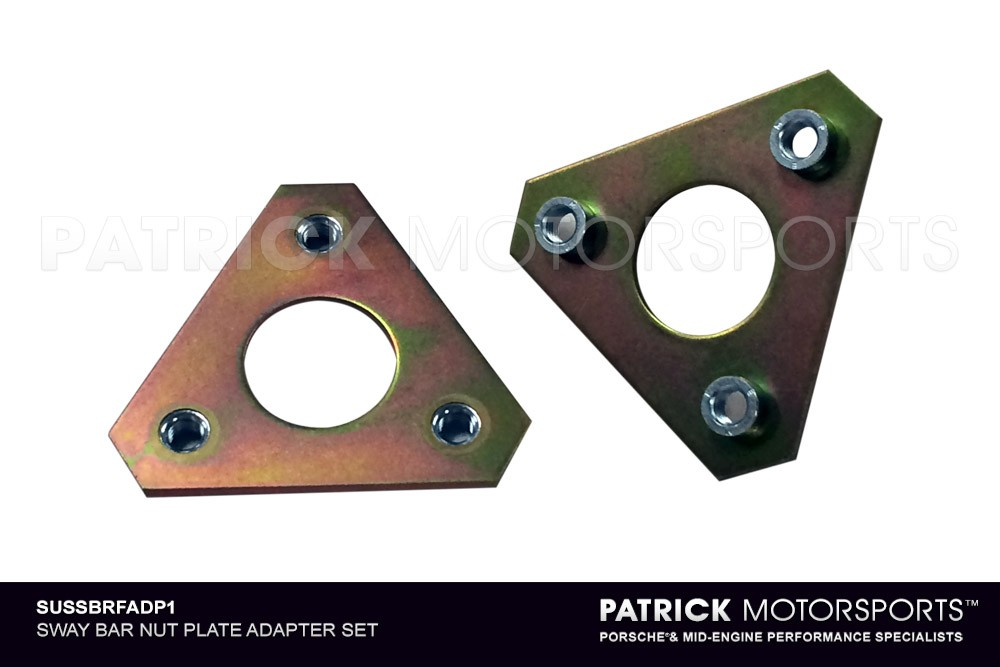 SWAY BAR NUT PLATE ADAPTER SET