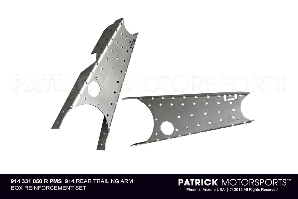 914 Rear TRAILING ARM Box Reinforcement Set