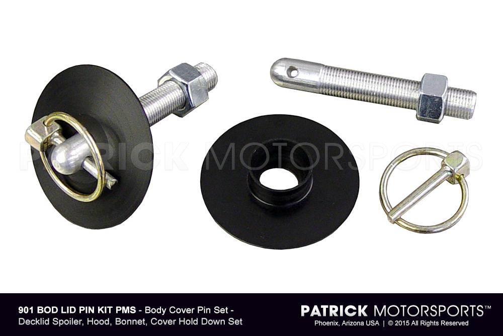 Hood Pin Set - Decklid, Hood, Bonnet, Hold Down