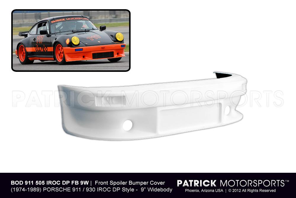Front Spoiler Bumper Cover 911 / 930 IROC DP Wide Body