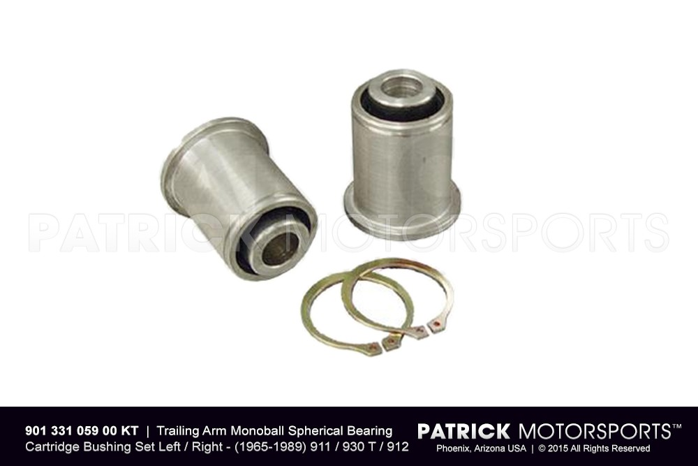 Rear Trailing Arm Monoball Bearing Set 911 / 912 / 930