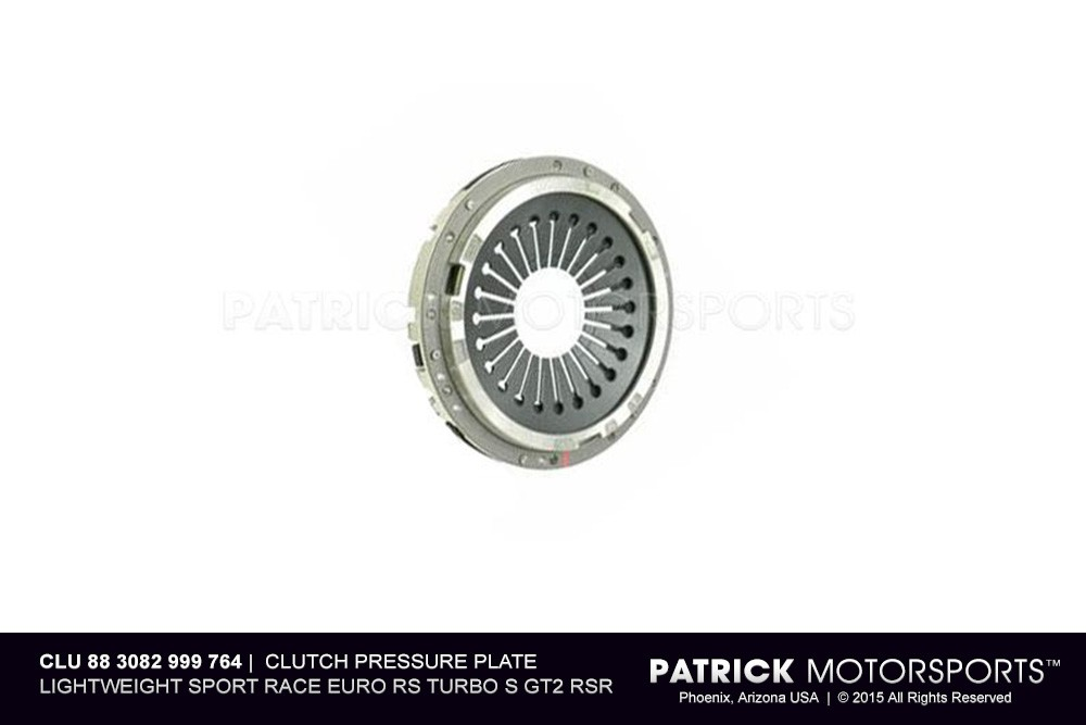 Clutch Pressure Plate Lightweight Sport Race Euro RS Turbo S GT2 RSR