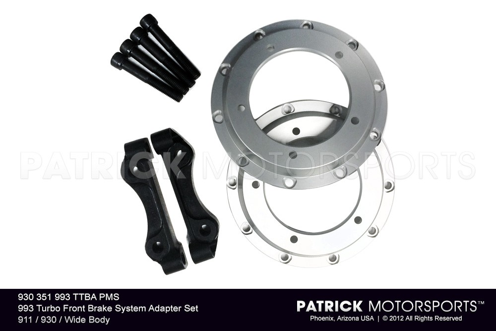 993 Turbo Front Brake System Adapter Set 911 / 930 / Wide Body