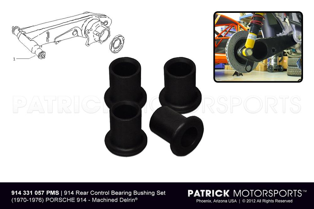 Bushing Set 914 Rear Axle Control Arms