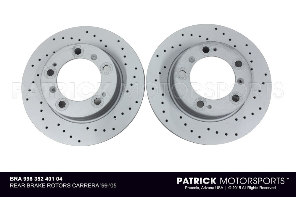 Brake Disc Rotors Rear 996, 997