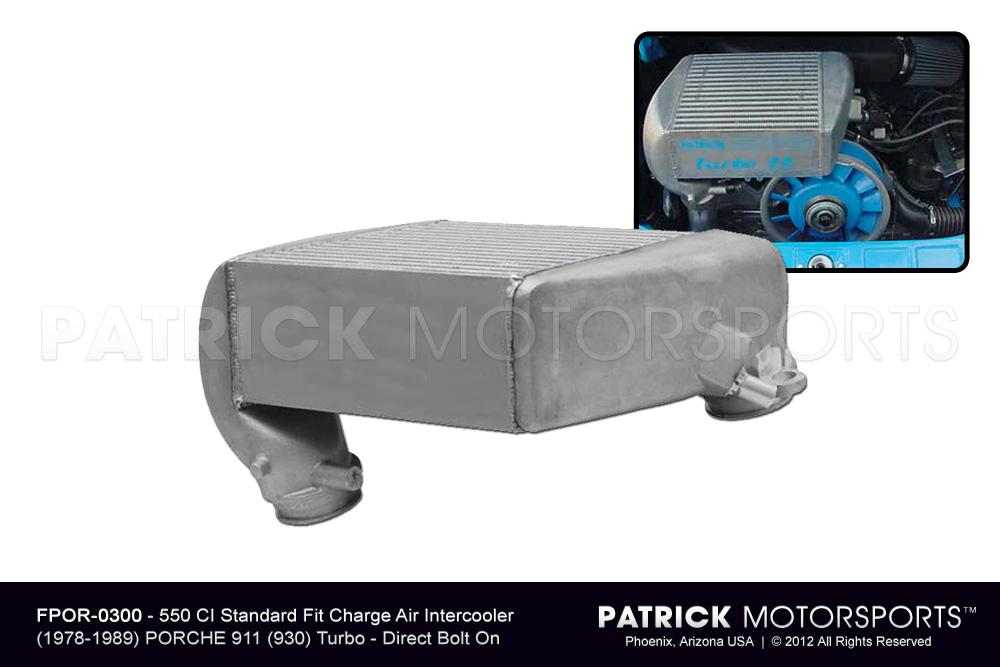 911 930 Intercooler Turbo Charge Air Cooler - Bolt-on Standard Fit (550 CI)